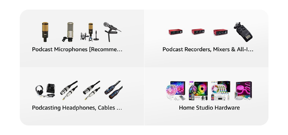 Screenshot of Amazon webfront.