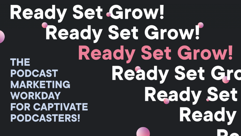 ready set grow promotional banner